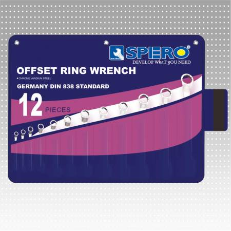 45° Offset ring wrench (Pouch Package)
