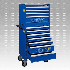215 PCS Tool Trolley - 11 Drawers - 215 PCS Tool Trolley - 11 Drawers