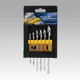 6 PC Ultra Slim Open End Wrench Set - 6 PC Ultra Slim Open End Wrench Set