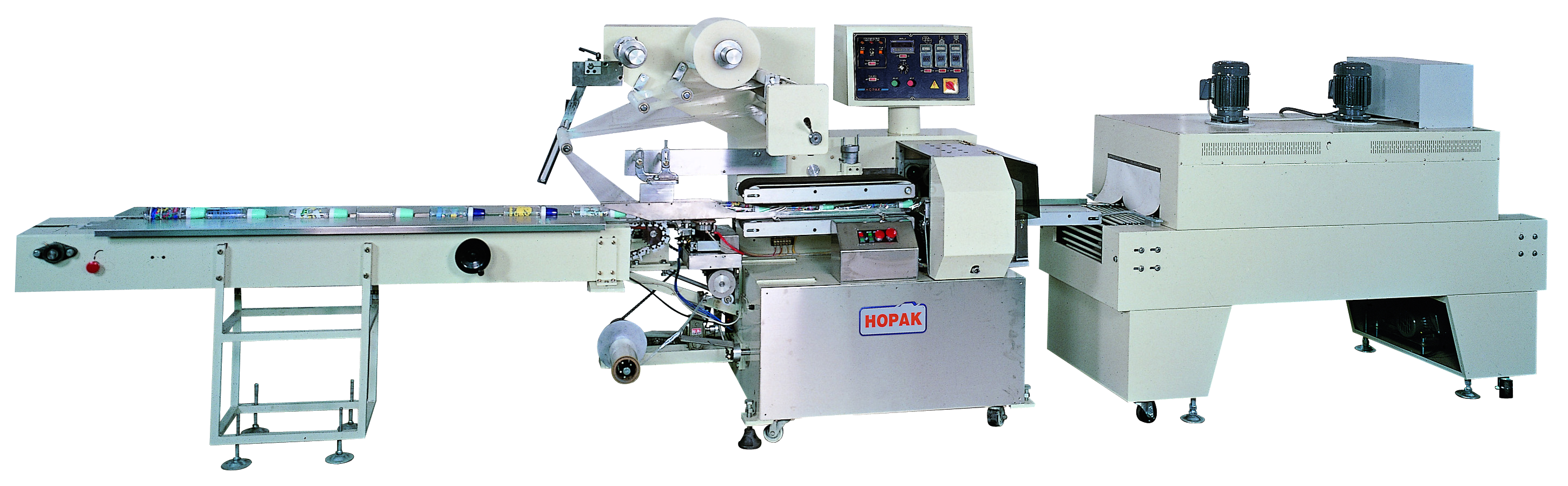 Shrink Packaging Horizontal Flow Wrapper
