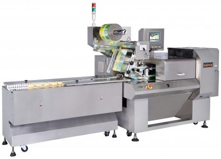 Machine d'emballage d'aliments de boulangerie