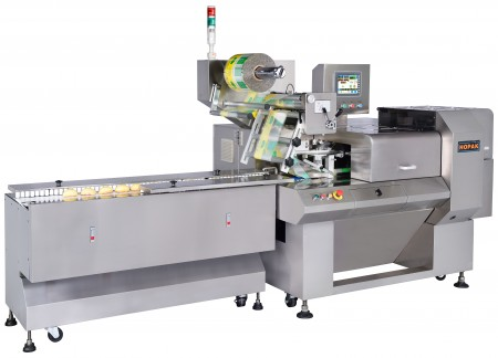 Bakery Foods Packaging Machine - D-cam Packaging Machine with Smart Belt
