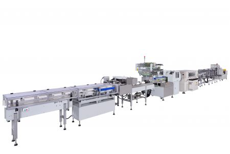 Paper Towels/ Paper Roll Fully Automatic Static-Seal Shrink packaging line