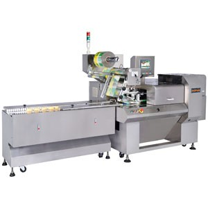 Máquina de embalagem de alimentos para padaria