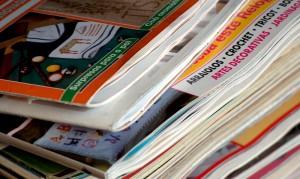 Máquina de embalaje de revistas