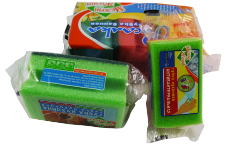 Scouring/Sponge Pad Packaging Machine - Scouring pads