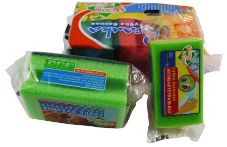 Ovma/Sünger Tampon Paketleme Makinası - Ovma pedleri