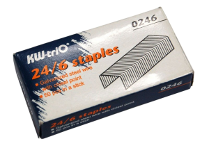 Staple Box Packaging