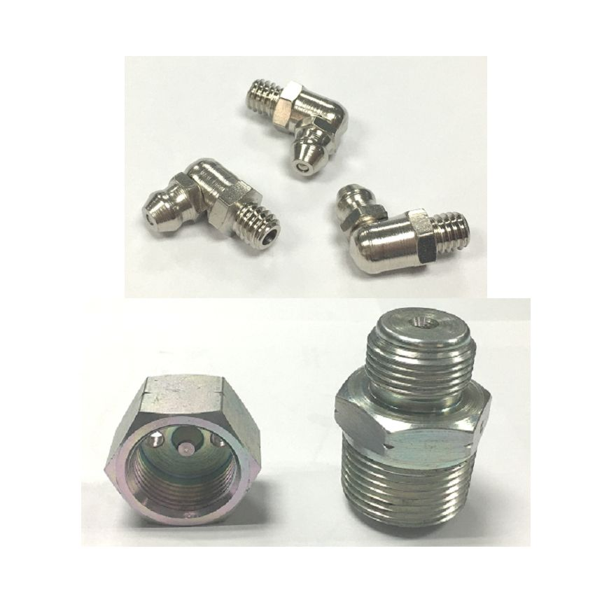 Teamco provides various grease fittings and grease nipples
