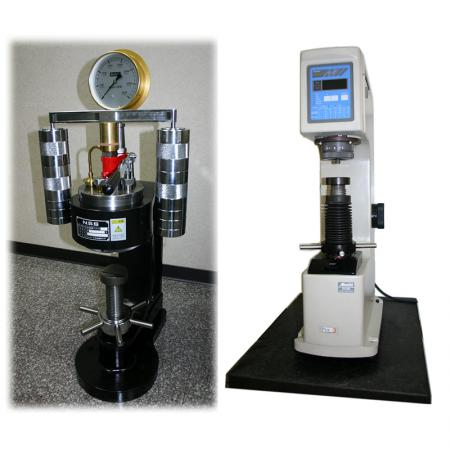 Brinell & Rockwell Hardness Testers
