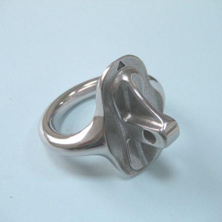 Polished Marine Metal Ring