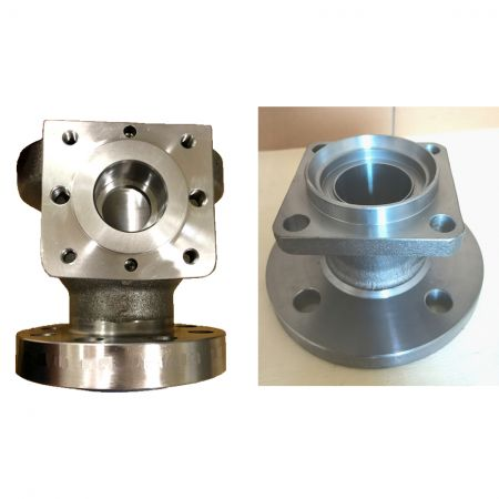 Multi-Directional-Hot-Forged-Metal-Parts - Multi-Directional Hot Forged Valve Parts in Customer Specifications.