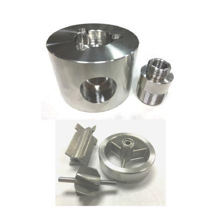 Türbin Debimetre Sensörü Metal Parçaları - Özel Türbin Akış Ölçer Sensörü Paslanmaz Çelik Parçalar