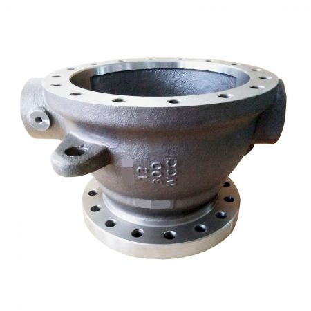 Steel Valve Body and Cap - Custom Floating Ball Valve Body WCC