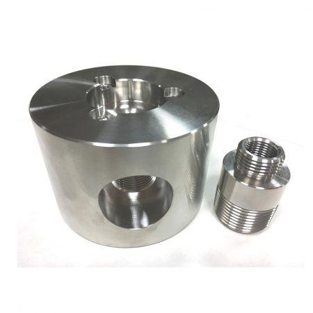 Steel Fluid Control Measuring Parts - Custom Stainless Steel Flow Meter Parts