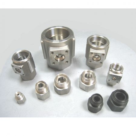 Steel Forging Valve Accessories - Custom Forged Ball Valve Parts