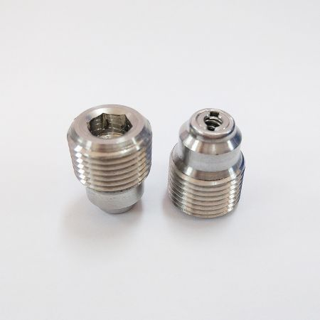 Internal Check Valve - Custom Check Valve Fitting in Stainless Steel or Carbon Steel