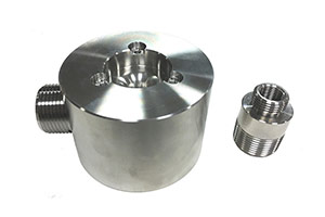 Stainless Steel Machined Fluid Control Parts