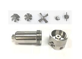 Металлические детали турбинного расходомера