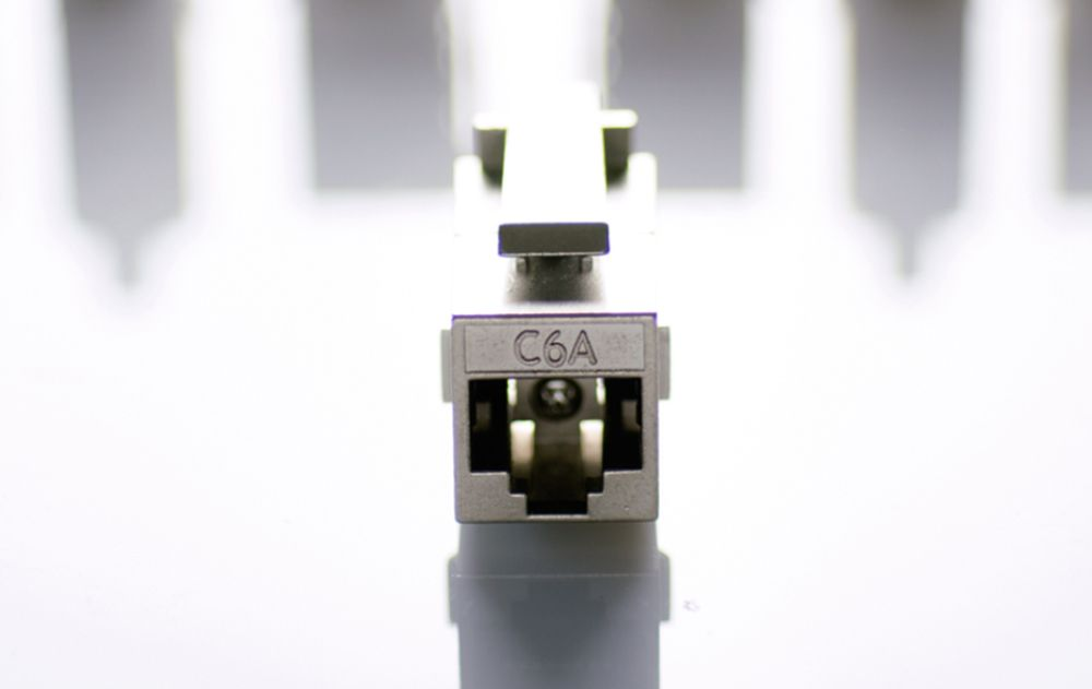 RJ45 Feed-Through Coupler System - RJ45 FEED-THROUGH COUPLER SYSTEM
