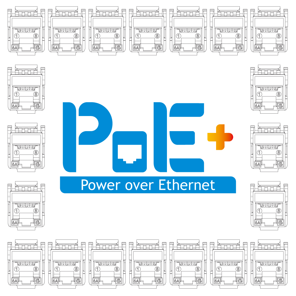 PoE + / IdO - Série PoE + / IoT