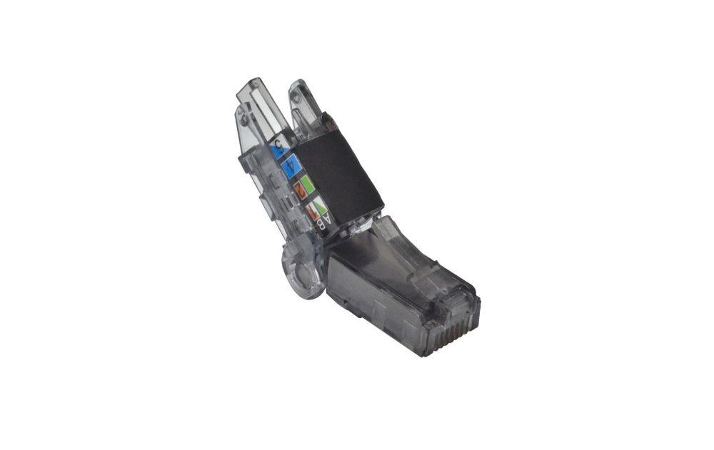 UTP Angled Type - Toolless Adjustable UTP RJ45 Plug