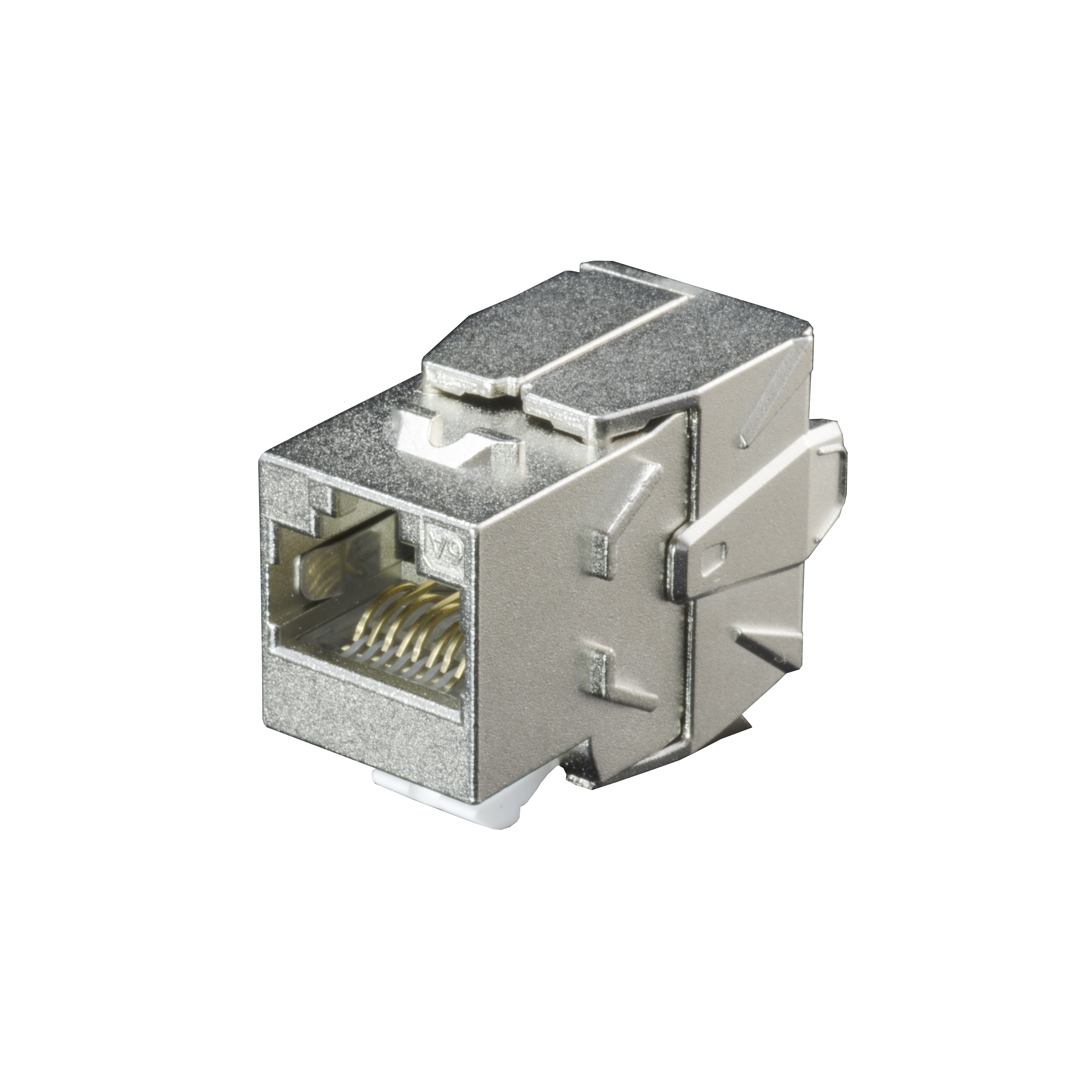 Cat 6A Component Level STP Toolless Type Keystone Jack - Cat6A STP Toolless Type Keystone Jack