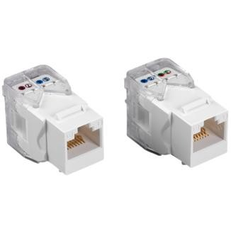 Cat 6 Component Level UTP Toolless Type Keystone Jack - Cat 6  UTP Toolless Type Keystone Jack