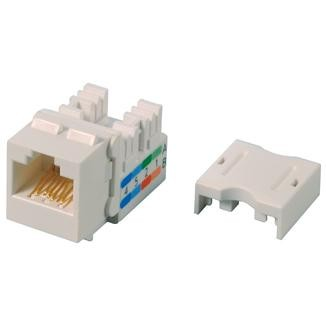 Cat 6 Component Level 90° UTP Punchdown Keystone Jack - Cat 6  90° UTP Punchdown Keystone Jack