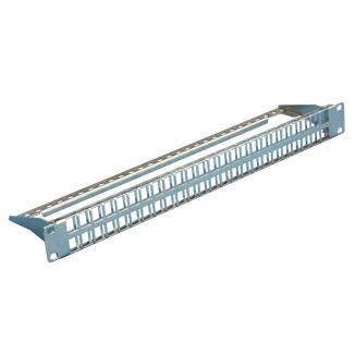 Pannello patch di tipo Snap-In STP / UTP a 48 porte 1U ad alta densità - Pannello patch di tipo Snap-In STP / UTP a 48 porte 1U ad alta densità