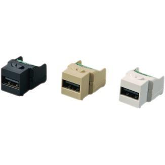 Screw Terminal Type 90° USB 2.0 Coupler - Screw Terminal Type 90° USB 2.0 Coupler