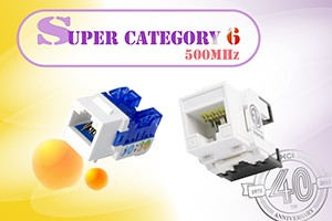 Super Category 6 Connecting Hardware Series