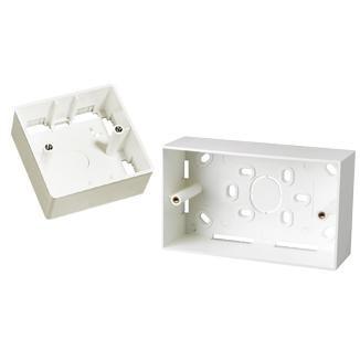 Single-Gang / Dual Gang Back Box - Single-Gang / Dual Gang Back Box