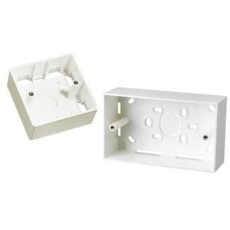 Single-Gang / Dual Gang Back Box - Single-Gang / Dual Gang Back Box