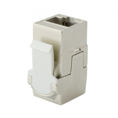 Coupleur Keystone Traversant HCI 180 ° RJ45 Cat 6A STP 03