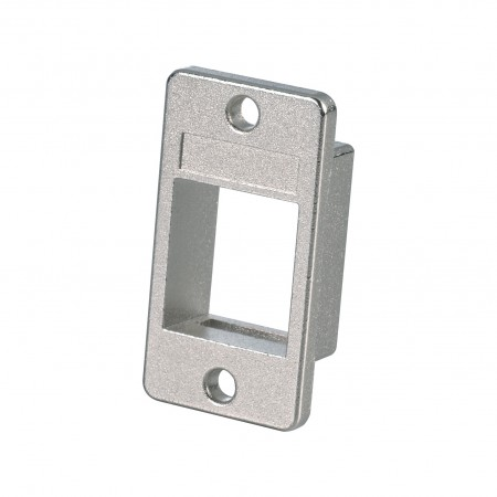 1-Port Shielded Mounting Bezel - 1-Port Shielded Mounting Bezel