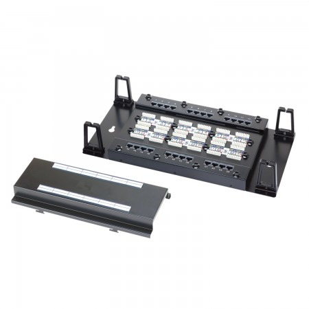 Wall Mount Moludar Type 24-Port UTP Modular Patch Panel