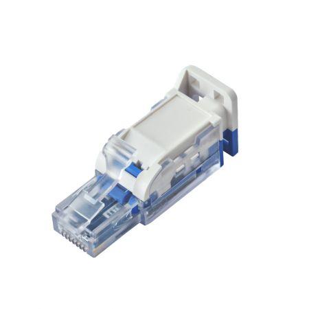 ISO/IEC Cat6A UTP PoE+ Field Termination Plug