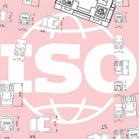 ISO / IEC-Serie der Kategorie 6A - ISO / IEC-Serie der Kategorie 6A