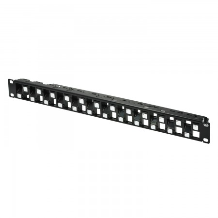 1U 24-Port UTP Snap-In Type Discrete Panel - 1U 24-Port UTP Snap-In Type Discrete Panel