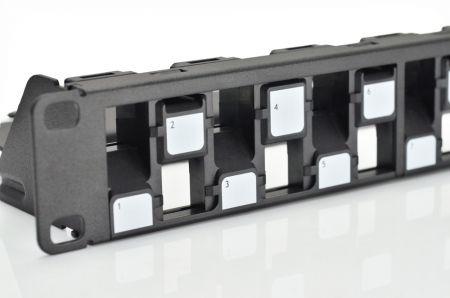 UTP Blank Panel - 1U 24-Port UTP Snap-In Type Discrete Panel