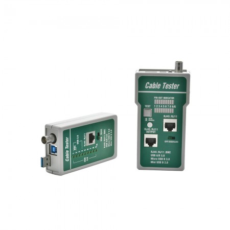 Schema Cablaggio Cavo Di Rete : Tester per cavi di rete in produzione e fornitura di accessori