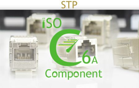 ISO C6A Component-Rated Shielded Solution - ISO C6A Component-Rated Shielded Solution