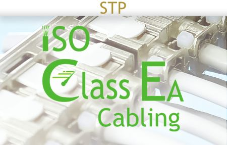 ISO-11801 Class EA Cabling Shielded Solution - ISO-11801 Class EA Cabling Shielded Solution