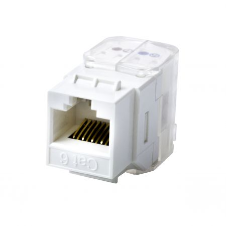 Cat 5e UTP Toolless Type Keystone Jack - Cat 5e  UTP Toolless Type Keystone Jack