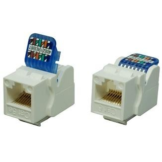 Cat 6 UTP Toolless Type Keystone Jack - Cat 6 & Cat 5e  UTP Toolless Type Keystone Jack