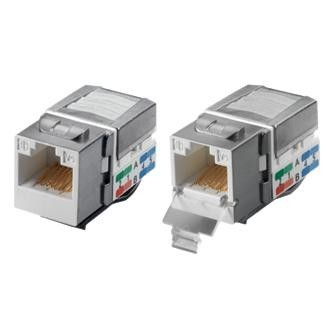 Cat 6 Component Level 90° UTP Punchdown Keystone Jack