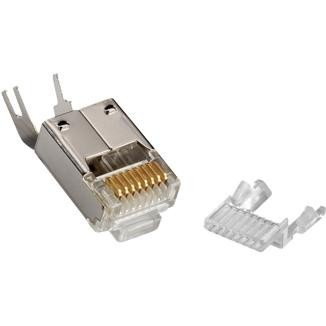 Multi-Piece Type RJ45 Plug for Cat 6 STP Cable