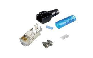 STP Cat 6A - Multi-Piece Type RJ45 Plug for Cat6A STP Cable