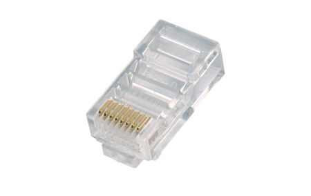 UTP Cat 6 - One Piece Type RJ45 Plug for Cat 5e UTP Cable
